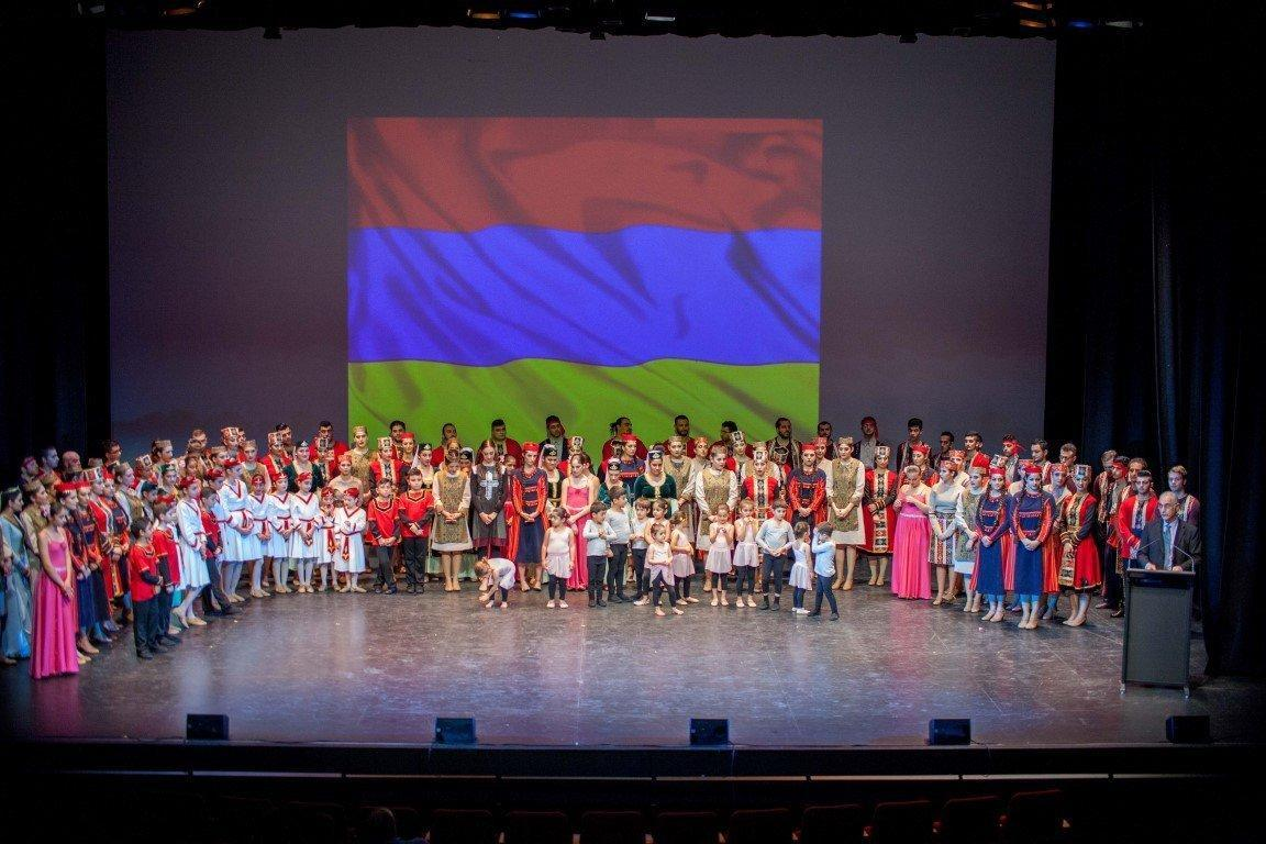 Grand Concert Performed by Three Armenian Dance Ensembles (Australia)