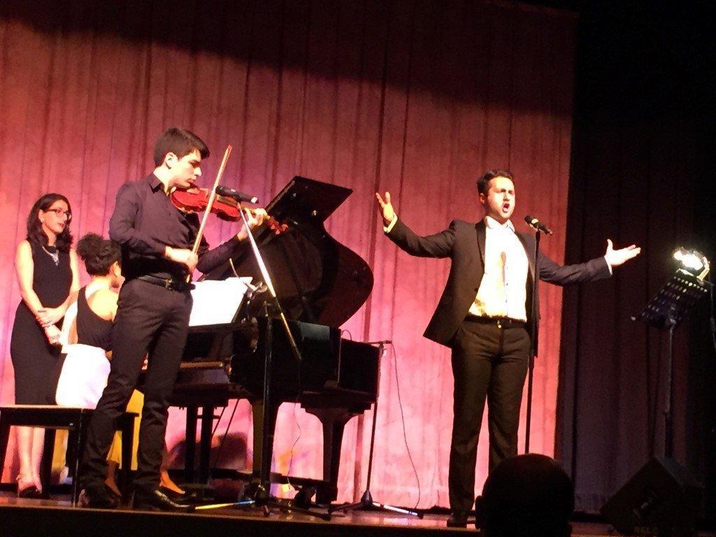 Concert by Native Young Artists Vartan Sahakyan and Armen Manoogian (Australia)
