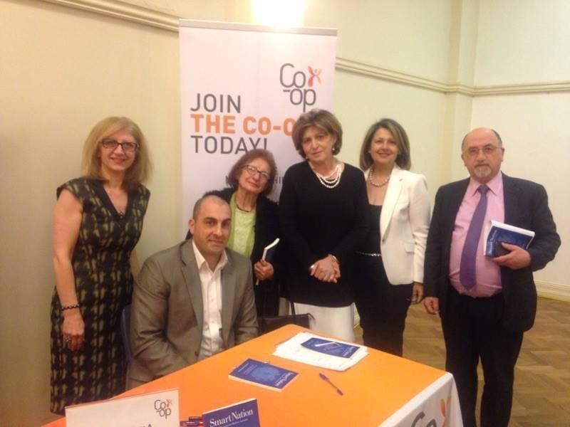 Sassoon Krikorian's ″Smart Nation: A Blueprint for Modern Armenia″ Book Launch (Australia)