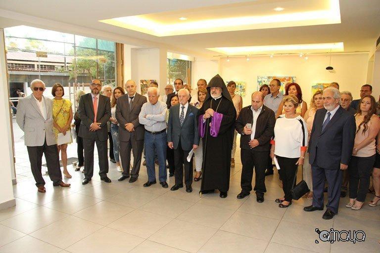 Sevag Armenian's Personal Exhibition (Lebanon)