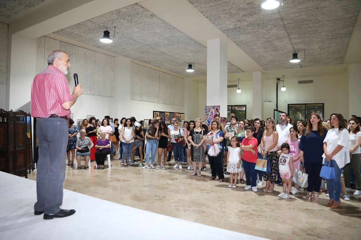 2017-2018 Annual Exhibition of Toros Roslin Fine Arts School Students (Lebanon)