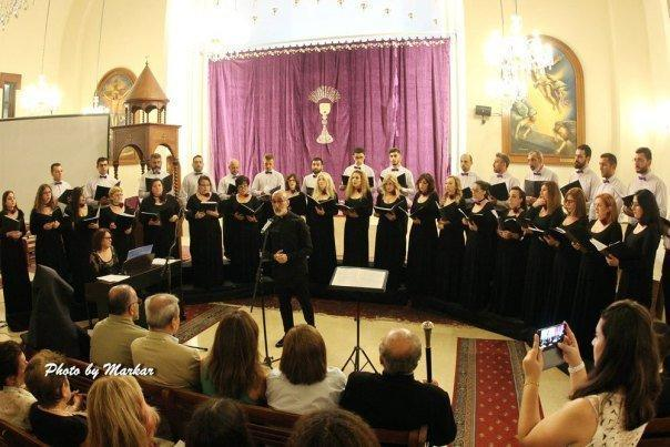 Hamazkayin's Kousan Choir's Performance (Lebanon)