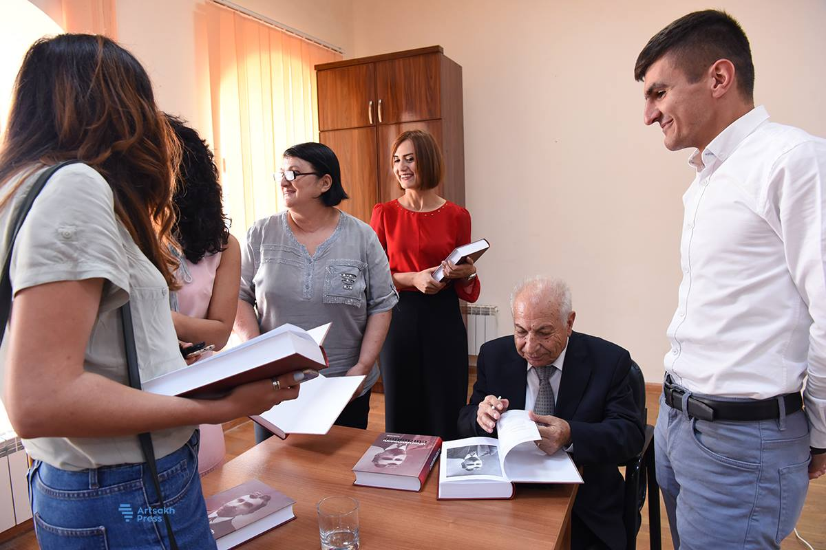 """The Letters of Aram Manoukian"" Book Launch Held in Shushi"