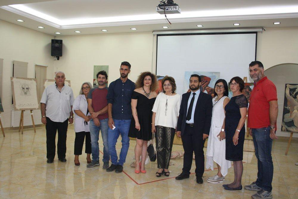 Art Exhibit Showcases Talent of Anjar Youth