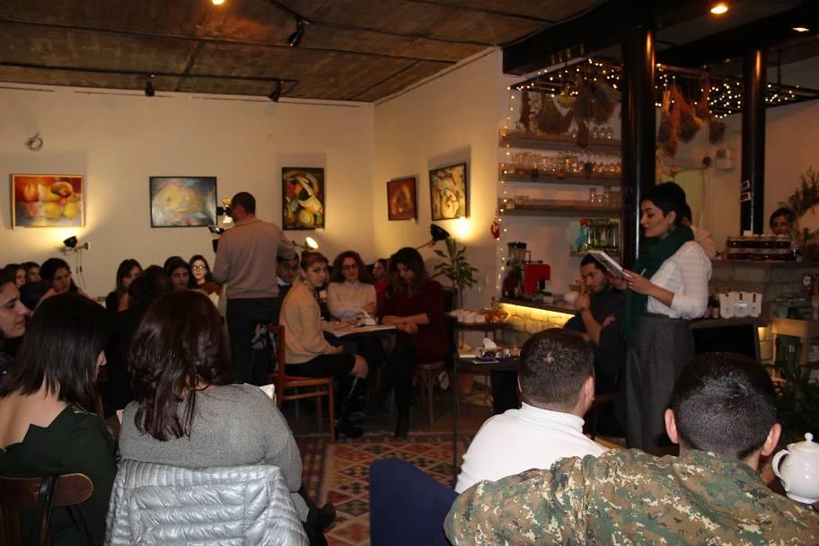 Literary Evening in Stepanakert with Author Aram Avetis