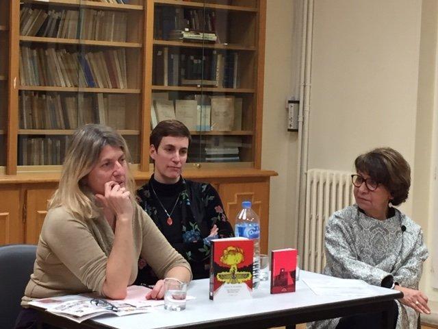 Talin Der Minassian Book Launch in Paris