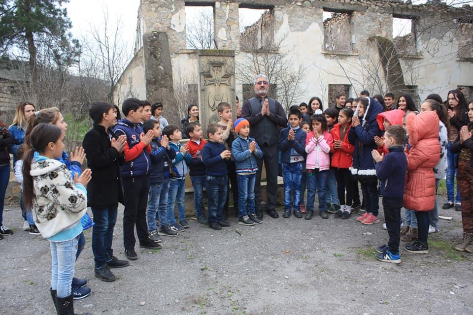 Gomidas Heard in Kovsakan in Artsakh