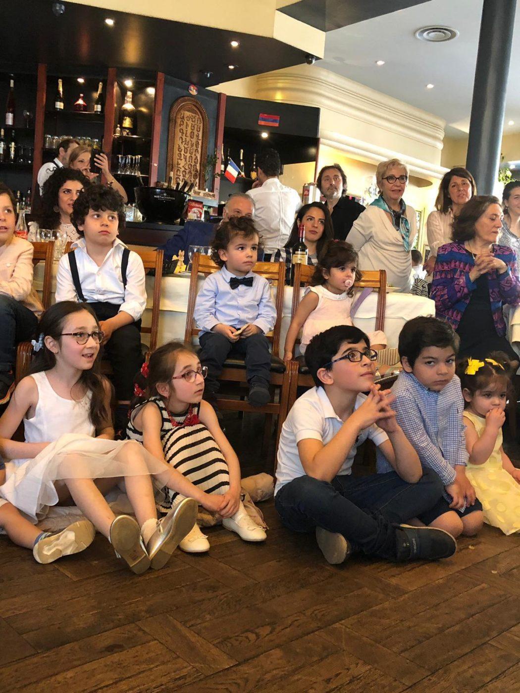 Easter Luncheon Held in Paris