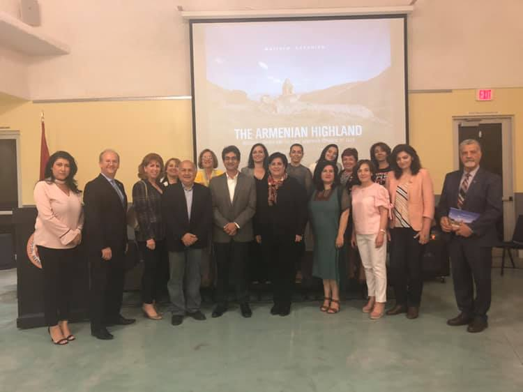 """In Glendale, """"Journey to the Homeland"""" Shown and """"The Armenian Highland"""" Launched"""