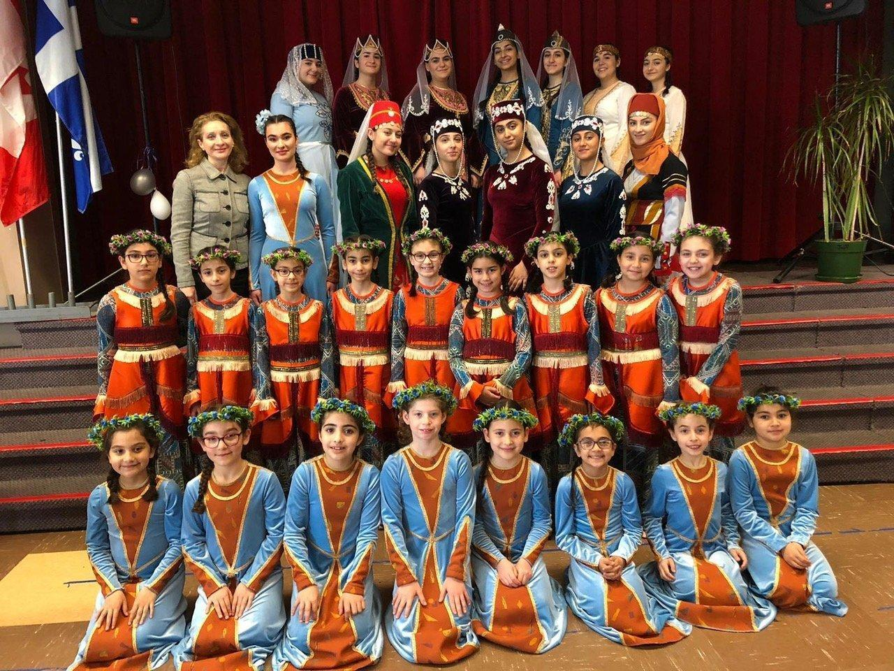 Children's Day Celebrated at Montreal Armenian Centre