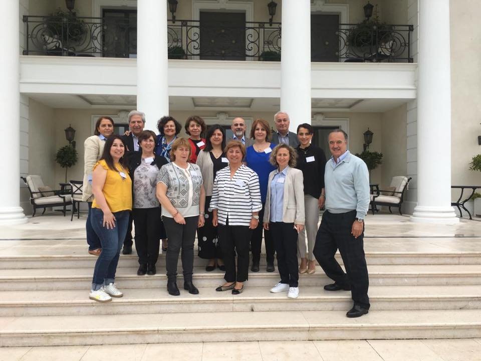 Hamazkayin Holds First Joint Meeting of Western European Executive Boards