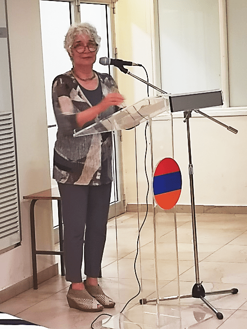 Susan Pattie's Book on Armenian Legionnaires Presented in Cyprus