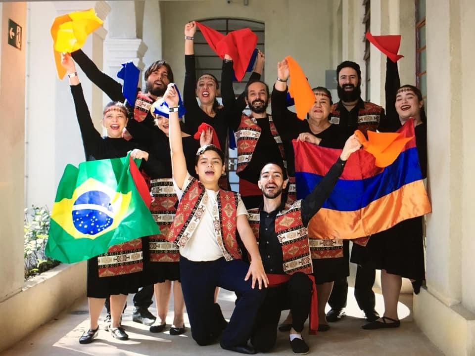 Hamazkayin participates in Brazil festival celebrating immigrants and refugees