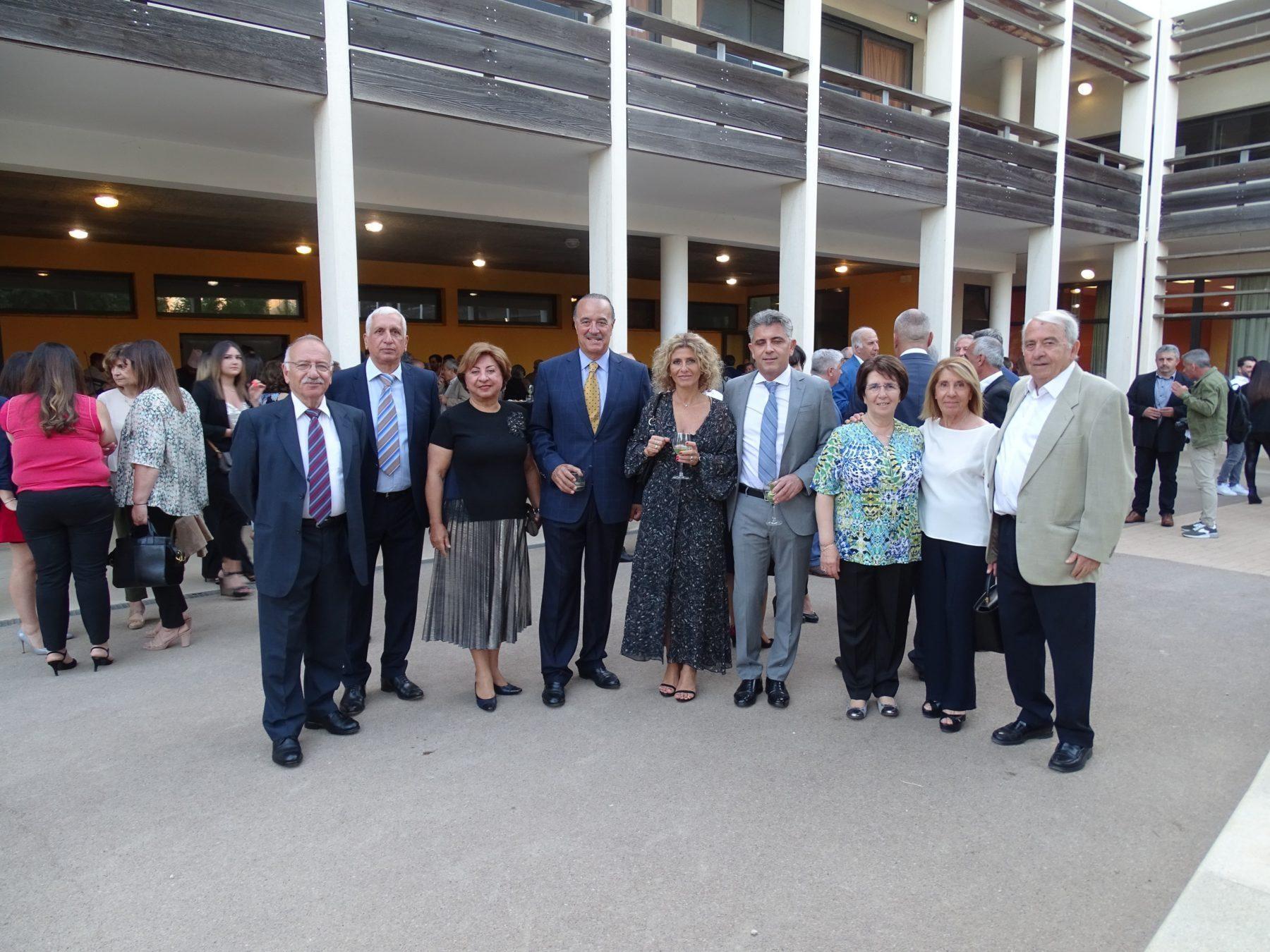 Hamazkayin Djemaran in Marseille Holds Annual Dinner
