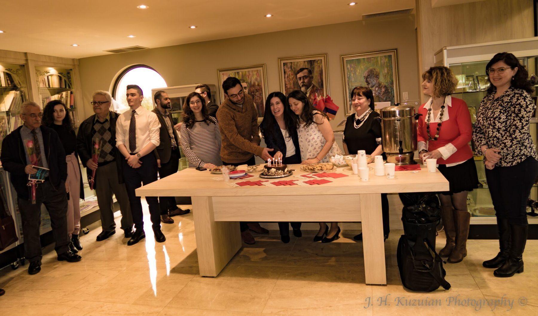 In Toronto, Teachers in Armenian Literature are Celebrated