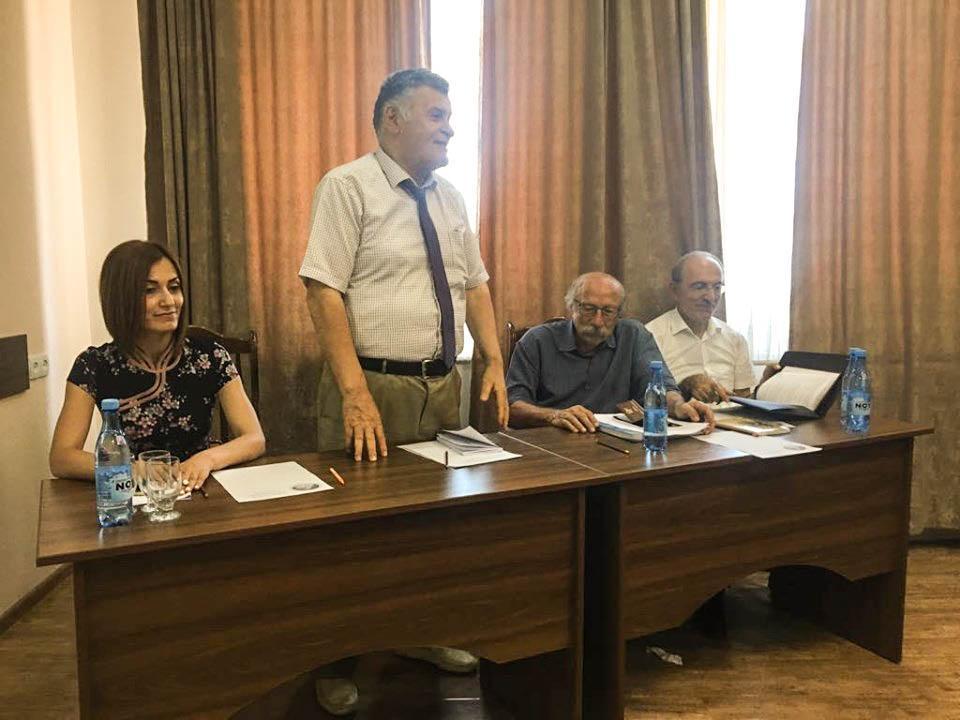 Herand Markarian's 80th Birthday Celebrated in Artsakh Too