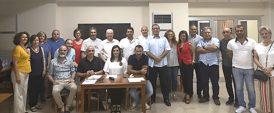 Cyprus' Oshagan Chapter Holds 20th Annual General Meeting