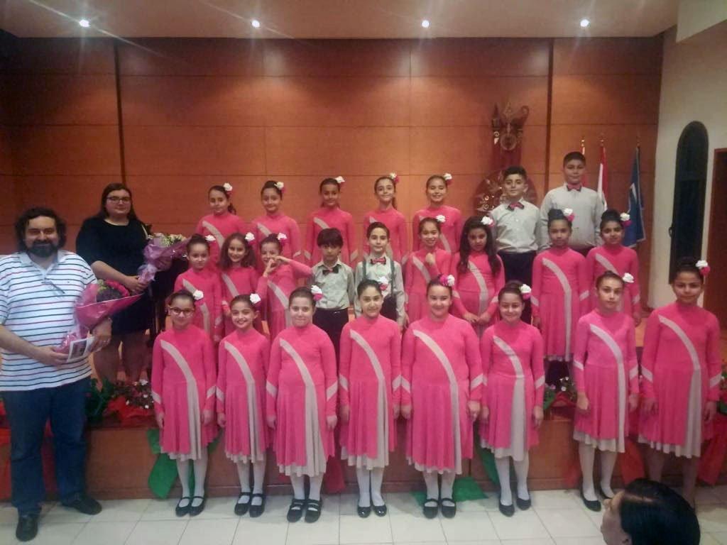 Gargach Children's Choir Performs in Lebanon