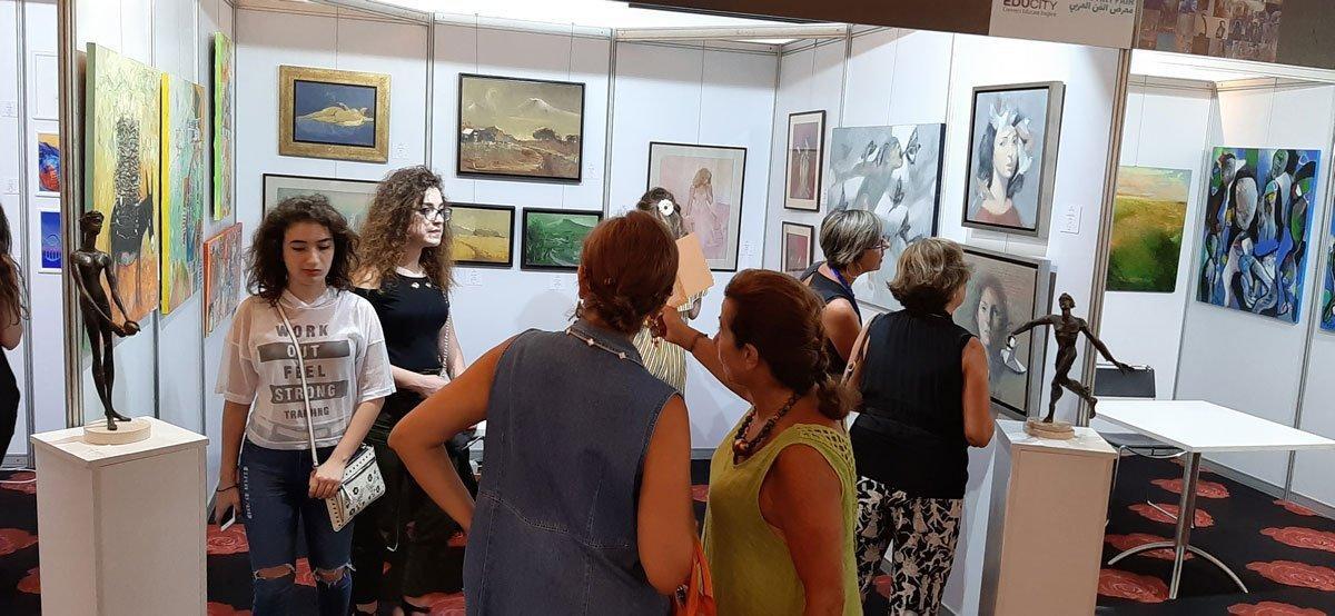 "Hamazkayin Lucy Tutunjian Gallery Participates in ""Arab Art Fair"""