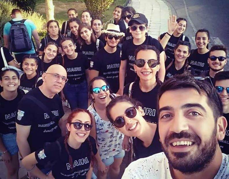 Hamazkayin Participates in Dance Festival in Achaea, Greece