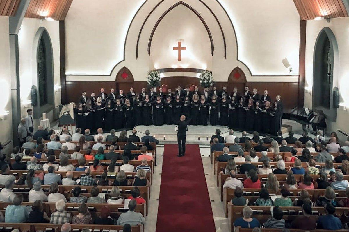 """Kousan"" Choir Celebrates Komitas's 150th Anniversary"