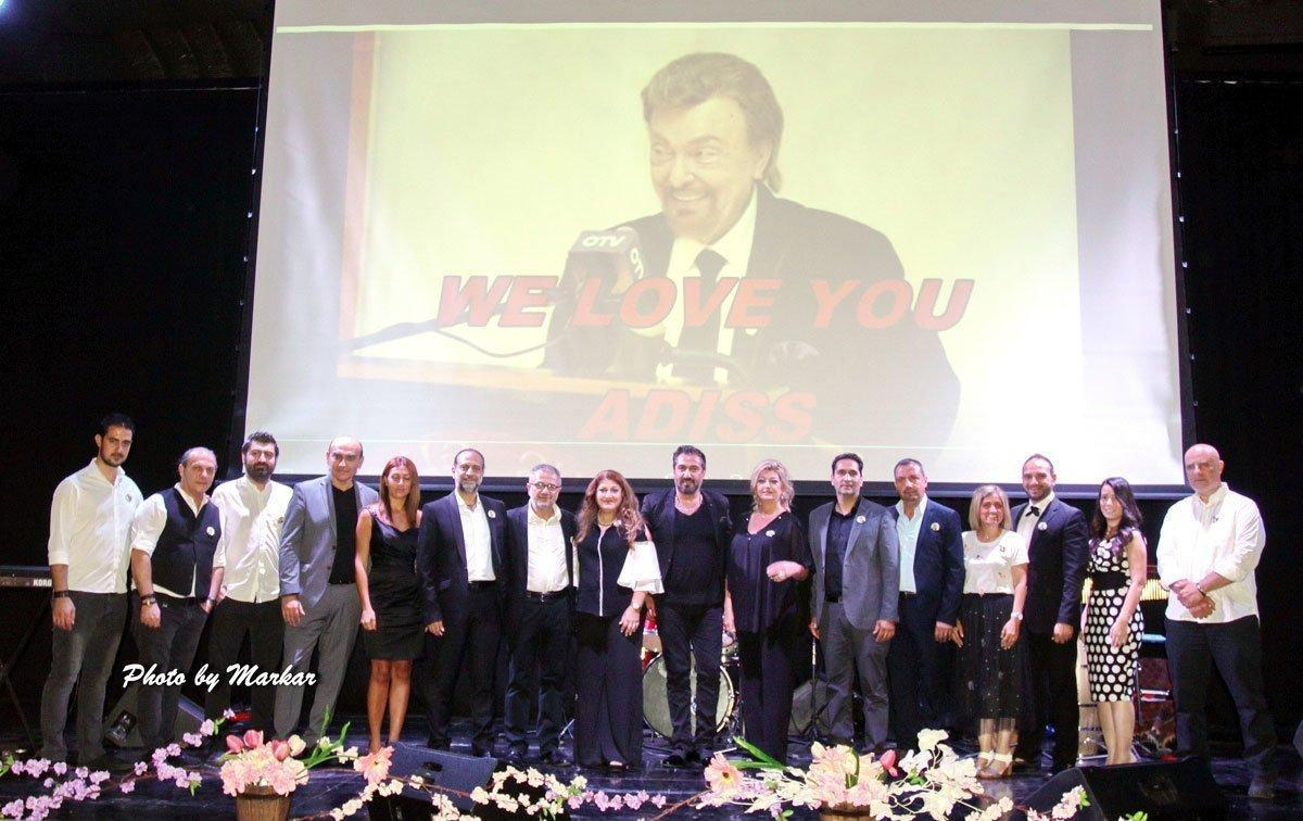 Crooner Adiss Harmandian Remembered in Lebanon