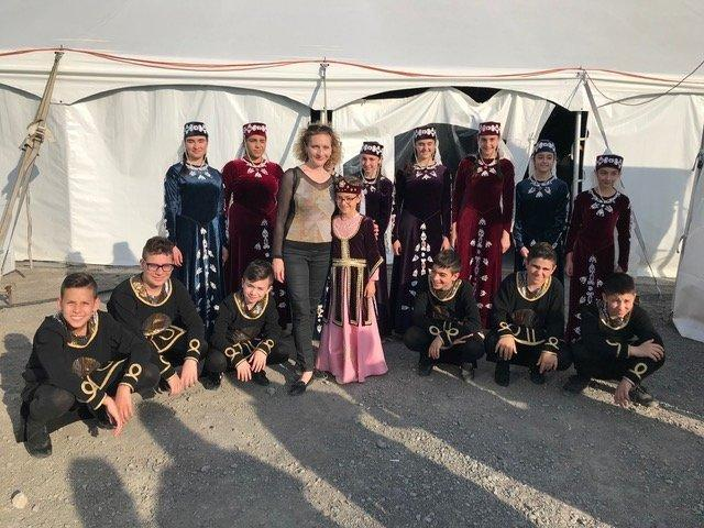 "Hamazkayin's ""Ani"" Dance Ensemble Participates in Festival Orientalys and Sourp Hagop's Kermis in Montreal"