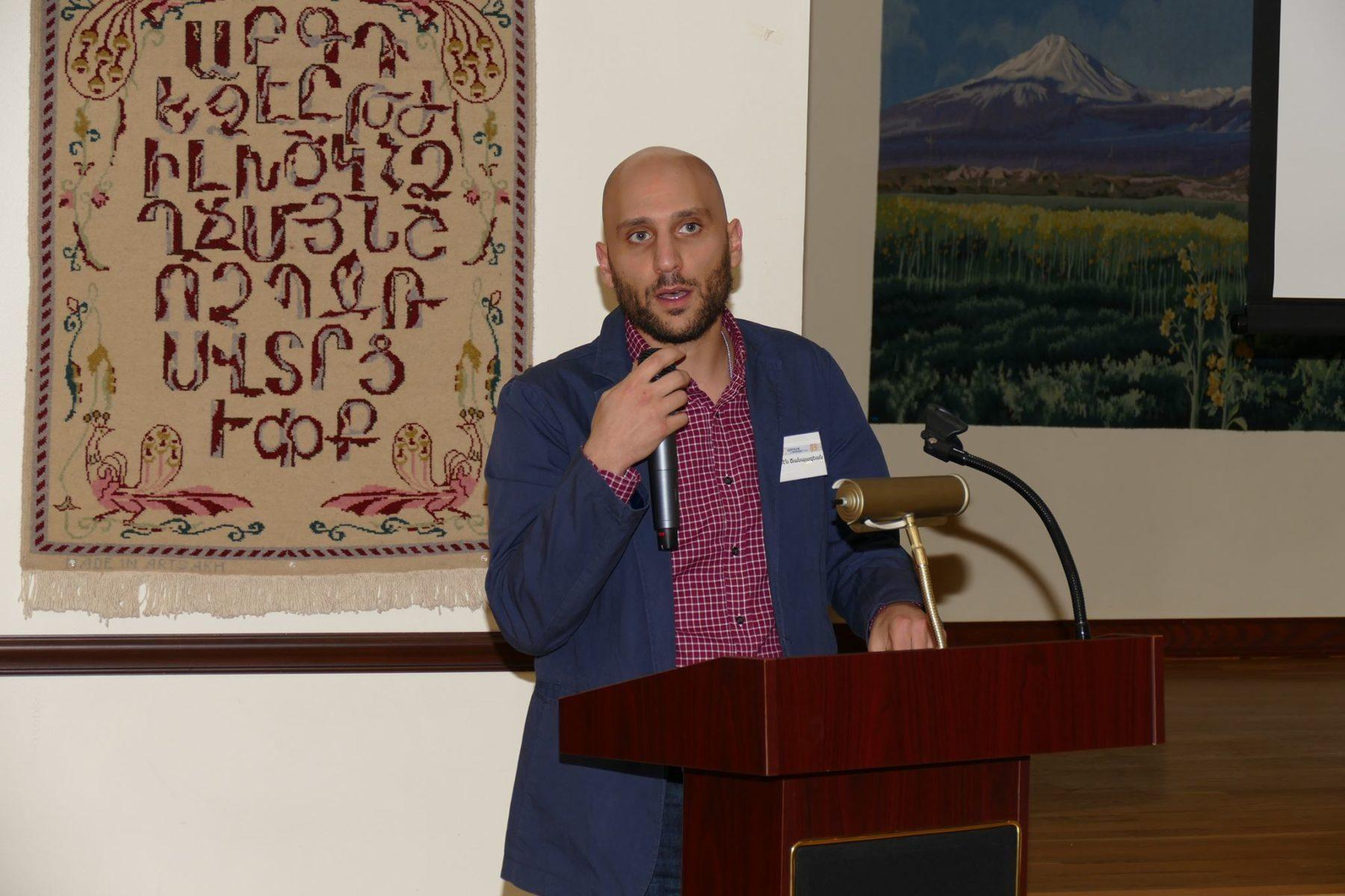 Hamazkayin's h-pem takes part in New York conference on the Armenian press