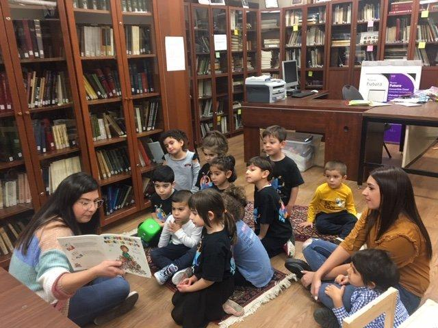 Children's Story Hour Resumes in Montreal