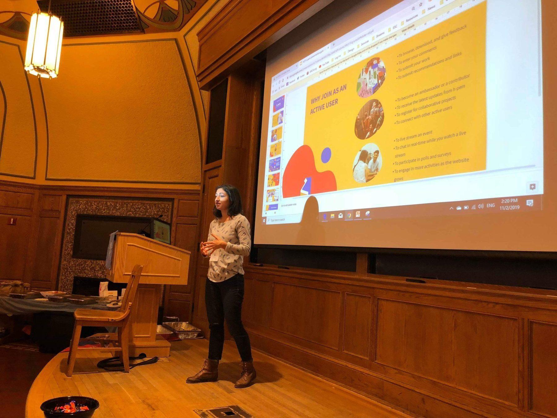 Hamazkayin's h-pem spotlighted at ARS Youth Connect Program at Yale University